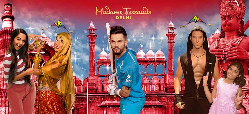 Madame Tussauds Dehli (Indien)