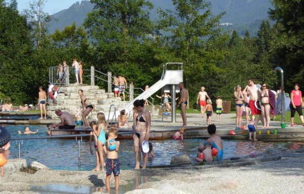 Sauna am Naturbad Bischofswiesen