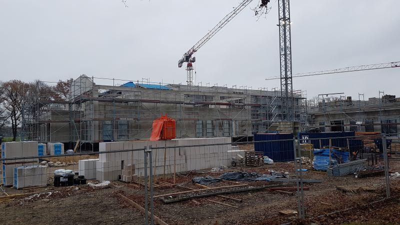 Projekte: Vabali Spa Hamburg in Bau